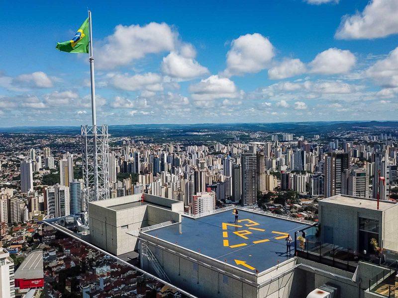 Clarion Goiânia - Foto aérea Drone