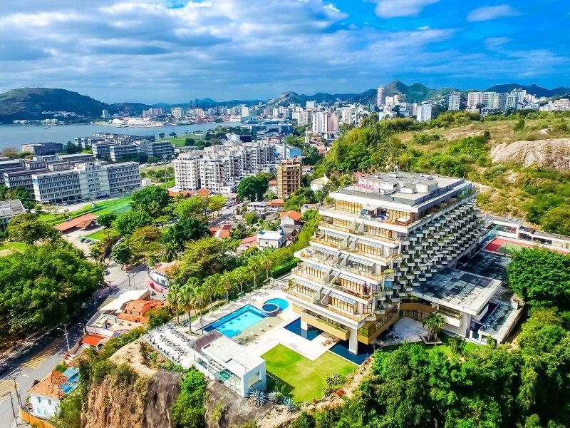 Quality Hotel Niteói - Drone aérea